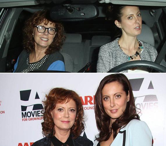 Susan Sarandon lánya, Eva Amurri nagyon hasonlít édesanyjára.