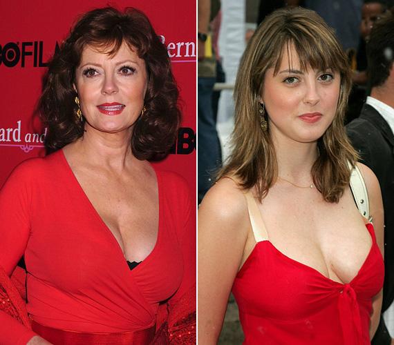 Sokban hasonlít édesanyjára, aki még 65 évesen is gyönyörű.