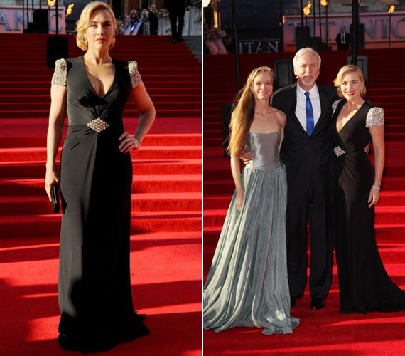 Beteges soványsága különösen szembetűnő volt Kate Winslet, a Titanic főszereplőnője mellett.
