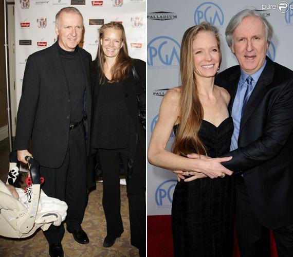 James Cameron és Suzy Amis 1997-ben, a Titanic forgatásán ismerkedtek meg egymással, és 2000-ben házasodtak össze. Bár a színésznő három gyereket is szült a rendezőnek, a terhesség nem hagyott nyomot rajta.