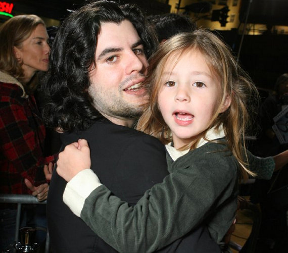 Kishúgával, Scarlettel 2005-ben egy filmpremieren.