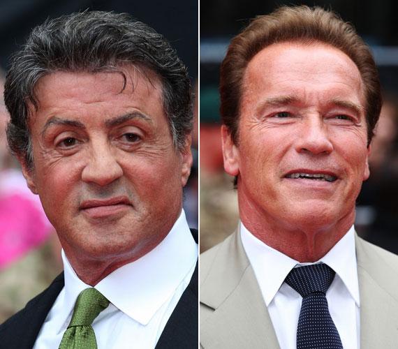 Egykori nagy riválisával jó baráti viszonyt ápol, természetesen az akciófilmek krémjét felvonultató moziból Arnold Schwarzenegger sem hiányozhat.