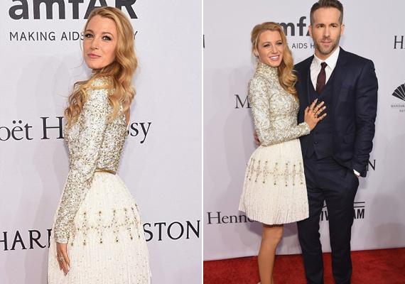 Blake Livelyt kislánya születése óta nem lehetett vörös szőnyeges eseményen látni, most azonban visszatért, mégpedig férje, Ryan Reynolds társaságában.