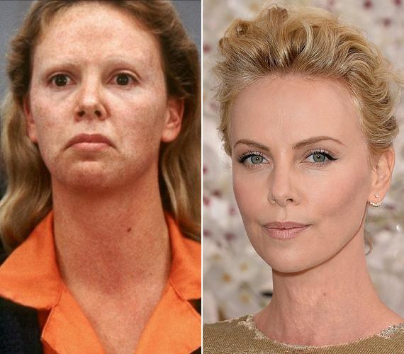 Charlize Theron 28 éves volt, amikor Aileen Wuornos bőrébe bújt. Hogy teljesen átlényegüljön, 15 kilót felszedett, vastag sminket kentek rá, kapott egy műfogsort és sötét kontaktlencsét, hogy a világos szemeit eltakarják. A színésznő sosem találkozott az általa megformált nővel, de bevallása szerint nem is nagyon tudott volna tőle mit kérdezni - Aileen Wuornost 2002. október 9-én végezték ki az általa elkövetett hét gyilkosságért.