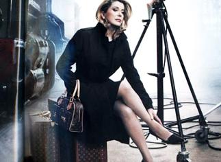A Louis Vuitton reklámkampányban