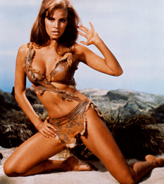 Raquel Welch, a bikinis amazon