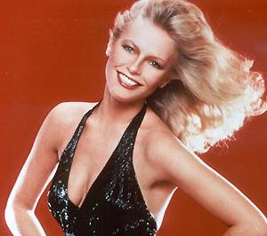 Cheryl Ladd a 70-es években, mint Charlie angyala