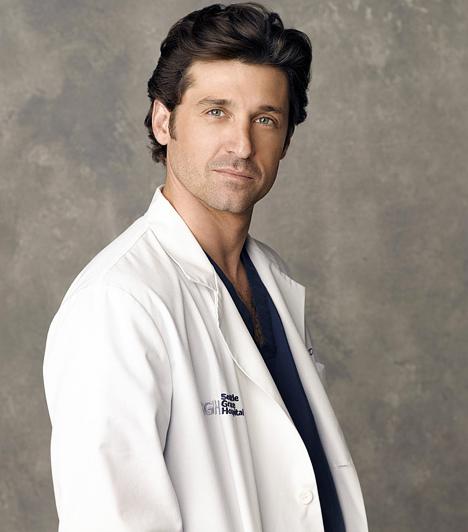 Patrick Dempsey  Ami a Vészhelyzetnek Ross doki, azaz George Clooney volt, az a Grace klinikának dr. Derek Shepherd megformálója, Patrick Dempsey. Talán kevesen tudják, hogy annak idején pályázott Dr. House szerepére is, de végül Hugh Laurie mellett döntöttek a producerek. Panaszra azonban nem lehet oka, hiszen a sármőr dr. Shepherd rengeteg nő kedvence lett szerte a világon.