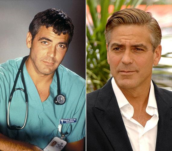 George Clooney csibészes Ross dokija a Vészhelyzetben sok női szívet meghódított.
