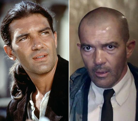 Antonio Banderas 35 éves volt, amikor eljátszotta a bérgyilkos El Mariachit a Desperadóban, tüzes tekintetéért és dögös testéért nők milliói voltak oda. Bár azóta is rendszeresen forgat, a mozilátogatók többségében még mindig a kilencvenes évekbeli kinézete él, holott a sztár felett sem múlt el az idő nyomtalanul. Ha pedig egy szerep kedvéért még kopaszra is borotválják, akkor szinte felismerhetetlen, csak égő tekintete és jellegzetes hangja árulja el. Érdekesség, hogy az Automatában Melanie Griffith-szel játszik - a színésznővel 1996-ban házasodtak össze, idén júniusban adták be a válási papírokat.