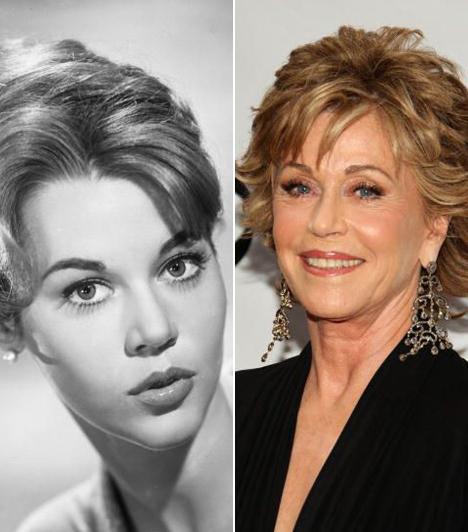 Jane Fonda  A hatvanas évek ellenállhatatlanul vonzó szexbombája pályafutása elején leginkább szőke cicababa szerepekben tűnt fel, de később drámai oldalát is megvillantotta. Kapcsolódó cikk: Jane Fonda 74 évesen is átlátszóba bújt »