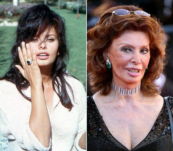 Sophie Loren az ötvenes években kezdett el filmezni, és bár eleinte ő volt a gyönyörű kiegészítő a mozikban, kiderült, hogy tehetséges és jó színésznő. az 1958-as Fekete orchideáért a Velencei fesztivál díját söpörte be, a három évvel későbbi Egy asszony meg a lánya viszont már Oscart hozott számára. A színésznőt néhány hónapja a Cannes-i Filmfesztiválon kapták le, ahol megjelent az Egy maréknyi dollárért című spagettiwestern ünnepi vetítésén - a film idén 50 éves.