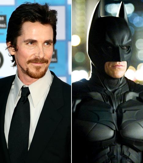 Christian Bale  A különc Christian Bale-t igazi átváltozóművészként tartják számon, hiszen nincs olyan akadály, melyet egy szerep kedvéért le ne tudna küzdeni. A 2004-es A gépész című filmért csontsovánnyá fogyasztotta magát, egy évvel később viszont már bivalyerős, izmos Denevéremberként hódított. Ez az erőfeszítés még nem, de a 2010-es A harcos bokszedzőjének karaktere az Oscar-díjat is meghozta neki. A walesi színész 2012-ben ismét felölti magára Batman fekete jelmezét.  Kapcsolódó sztárlexikon: Ilyen volt, ilyen lett: Christian Bale »