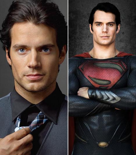 Henry Cavill                         Az 1983-as születésű brit sármőr olyan kosztümös, történelmi filmekkel robbant be a köztudatba, mint a Monte Cristo grófja, a Trisztán és Izolda vagy az HBO sikersorozata, a Tudorok. Tény, hogy az észbontóan jóképő színészen minden jelmez remekül mutat, talán épp ezért osztották rá a 2012-es, legújabb Superman mozi főszerepét.                         Kapcsolódó sztárlexikon:                         Ilyen volt, ilyen lett: Henry Cavill »