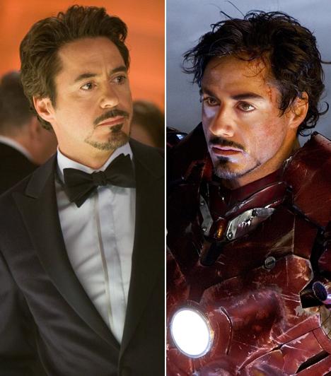 Robert Downey Jr.  Az 1965-ös születésű, New York-i színész végigforgatta a kilencvenes éveket, legnagyobb sikere egy életrajzi film volt, melyben Chaplin megformálásáért Golden Globe-díjra jelölték. Egy ideig drogproblémákkal küzdött, de az ezredfordulóra sikeresen kilábalt a gödörből. 2007-ben a Vasemberrel tért vissza a vászonra, melynek 2010-ben a folytatása is elkészült.  Kapcsolódó cikk: Az apjára ütött! Jóképű sráccá érett Robert Downey Jr. 17 éves fia »