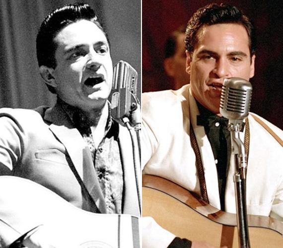 Joaquin Phoenix a 2005-ben készült A nyughatatlanban bújt Johnny Cash country-zenész bőrébe, játékáért megkapta a Golden Globe-ot és Oscarra is jelölték.