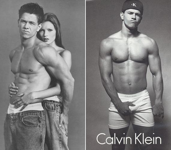 Mark Wahlberg 1992-ben írt történelmet, amikor a Calvin Klein reklámjához alsónadrágra vetkőzött, majd több reklámjukban is szerepelt - olykor Kate Moss szupermodell társaságában. Később Annie Leibovitz is készített az azóta már színészként dolgozó Wahlberggel egy alsógatyás sorozatot. Azt pedig, hogy miként lehetnek ilyen izmai másnak is, egy edzővideóban - The Marky Mark Workout: Form.Focus.Fitness - mutatta meg a rajongóinak.