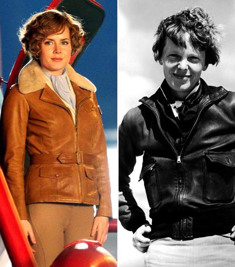 Amy Adams  Amy Adams színésznő testesítette meg az Éjszaka a múzeumban című komédia második részében Amelia Earhart pilótát, akinek először sikerült átrepülnie az Atlanti-óceánon.  Kapcsolódó sztárlexikon: Ilyen volt, ilyen lett: Amy Adams »