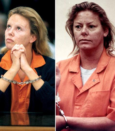 Charlize Theron  Charlize Theron hátborzongató módon keltette életre A rém című filmben Aileen Wournos leszbikus sorozatgyilkost, aki hat férfival végzett a nyolcvanas-kilencvenes évek fordulóján. Wournost nem sokkal később injekcióval kivégezték. Theron Oscart kapott a prostituált megformálásáért.  Kapcsolódó címke: Charlize Theron »