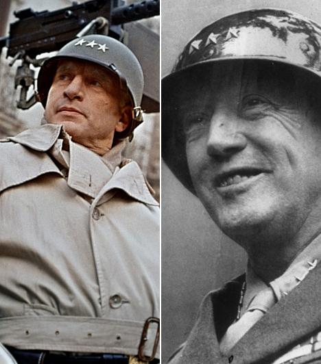 George C. Scott  George C. Scott harmadik Oscar-jelölését váltotta aranyszoborra, amikor 1970-ben az ellentmondásos Patton tábornok bőrébe bújt. A megzabolázhatatlan Patton nagy szerepet játszott a normandiai partraszállásban, Scott pedig nem vette át a díjat, mert úgy érezte, hogy saját alakítása meg sem közelítette a többiekét.