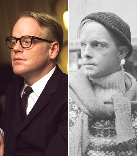 Philip Seymour Hoffman  2005 egyik legemlékezetesebb alakításával Philip Seymour Hoffman ajándékozta meg a mozirajongókat, aki a Capote című alkotásban a legendás amerikai írót, Truman Capote-t játszotta el, alakításáért méltán vehette át az Oscar-díjat.