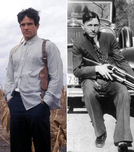 Warren Beatty  A jóképű szívtipró, Warren Beatty alakította Clyde Barrow bűnözőt, aki Bonnie Parkerrel és bandájával együtt több tucat embert gyilkolt meg a harmincas évek első felében. 25 éves korában a rendőrökkel vívott tűzharcban halt meg, ugyanúgy, mint a 23 éves Bonnie Parker.