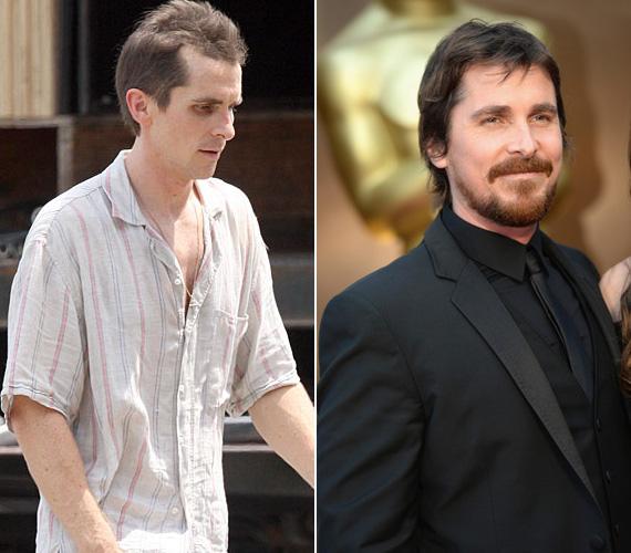 Christian Bale nem először fogyott le egy szerepért, A gépész című filmben szinte csak a bordái látszottak. A sztár a 2010-es A harcos című filmben ismét csontsoványan jelent meg - az életrajzi ihletésű moziban egy drogos exbokszolót, Dicky Ecklundot alakította. Átütő játékáért a rákövetkező évben megkapta a Golden Globe- és az Oscar-díjat is.