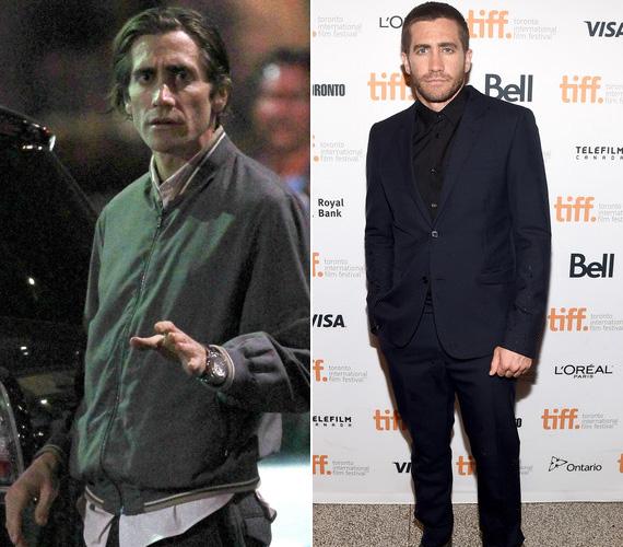 Jake Gyllenhaalra alig lehetett ráismerni az Éjjeli féreg forgatásán, ahol egy lecsúszott újságírót alakít. A szerep kedvéért a színész bevallása szerint csak rágón és kelkáposztán élt, előbbit azért használta folyamatosan, hogy eltüntesse az utóbbi ízét a szájából.