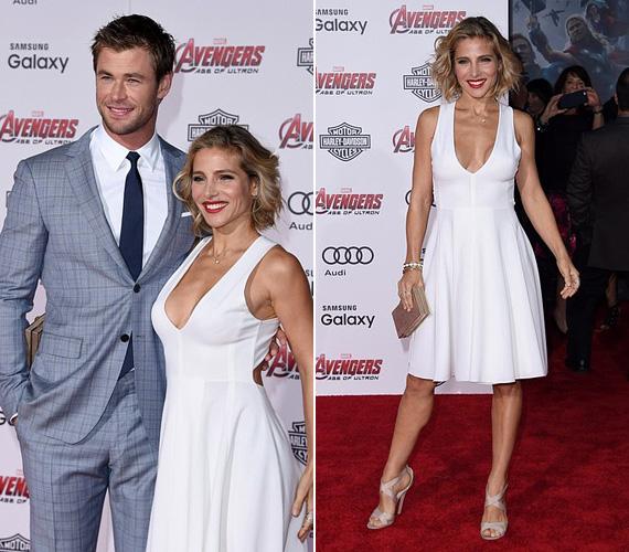 Elsa Pataky és férje, Chris Hemsworth alig egy héttel korábban, április 13-án jelentek meg a Bosszúállók: Ultron kora című film világpremierjén, ahol Thor megformálója büszkén pózolt csinos feleségével. A 38 éves színésznő már két gyermek édesanyja, de ez alakján a legkevésbé sem látszik.