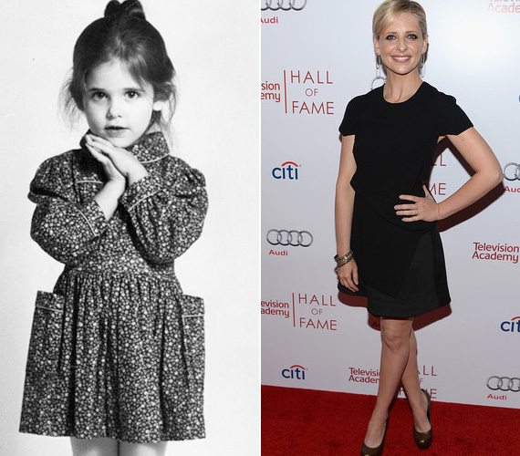 Sarah Michelle Gellar, azaz Buffy, a vámpírok réme cseppet sem volt ijesztő és harcias a kislánykori fotóján - sőt, maga volt a megtestesült ártatlanság. A színésznő mostanság inkább a gyereknevelésre koncentrál - két gyermeke van férjétől, Freddie Prince Jr.-tól -, legutóbb az Eszementek sorozatban bukkant fel.