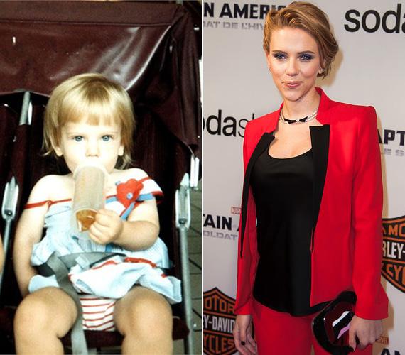 Scarlett Johanssont kislánykorában láthatólag megnyugtatta, ha teát cuclizhatott a cumisüvegből - csakúgy, mint a legtöbb kisgyereket. A 29 éves színésznő ma már bizonyára leginkább ásványvizet iszik, hogy őrizze alakját, amit filmjeiben meg is mutat: az Avengers - Bosszúállókban például az esetek túlnyomó többségében testhezálló ruhában szerepel a Fekete Özvegy szerepében.
