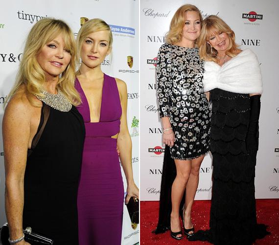 Goldie Hawn lánya, Kate Hudson színésznő lett - Majdnem híres, Bolondok aranya, A csajok háborúja -, akiről talán sokan már nem is tudják, ki a híres felmenője. A 35 éves sztár édesapja Bill Hudson, akivel Goldie Hawn 1976 és 1980 között élt házasságban. Van egy bátyja is, a három évvel idősebb Oliver Hudson, aki szintén színész.