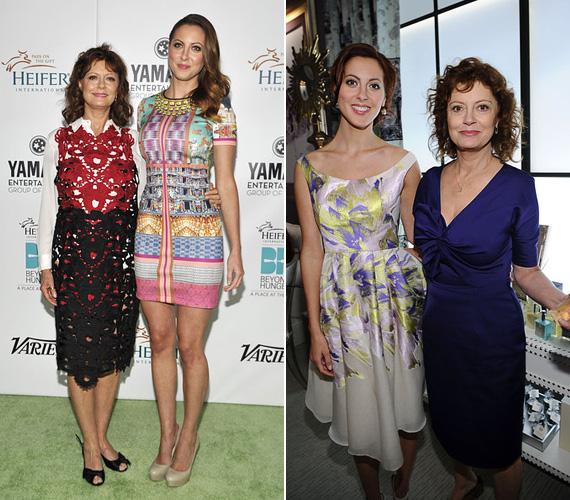 Susan Sarandon lánya, Eva Amurri is színésznő, olyan filmekben láthatta a közönség, mint a Szemvillanás alatt vagy a New York, I Love You, de a Kaliforgia sorozatban és a Dr. House-ban is felbukkant. A 29 éves sztár már édesanya, lánya, Marlowe idén augusztusban született.