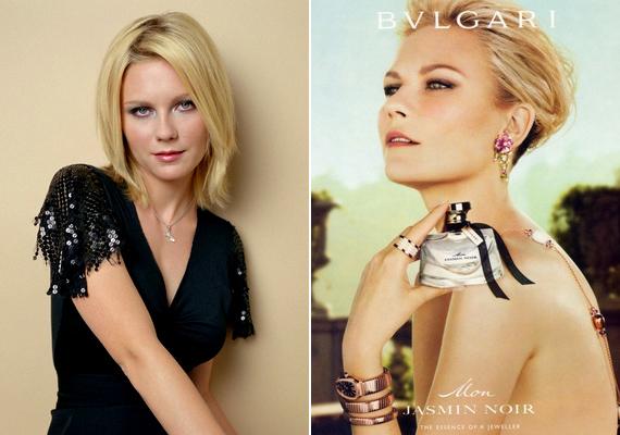 Kirsten Dunst a Bulgari Mon Jasmine Noir illatának az arca volt 2011-ben.