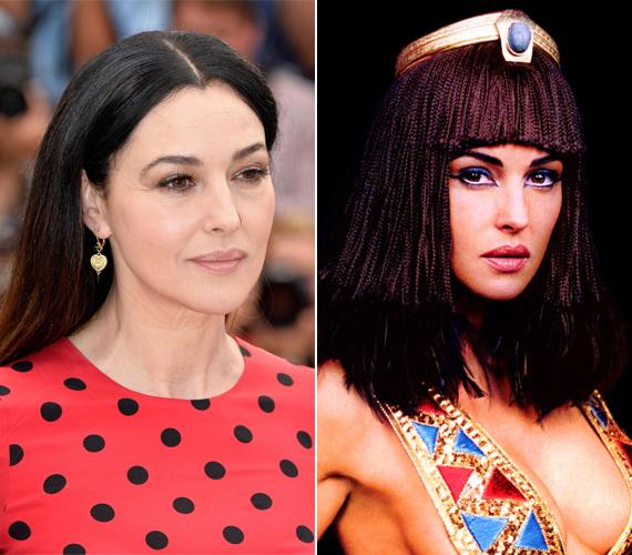 Monica Bellucci a 2002-ben készült Asterix és Obelix: A Kleopátra-küldetés című filmben kapott látványos, fekete parókát.