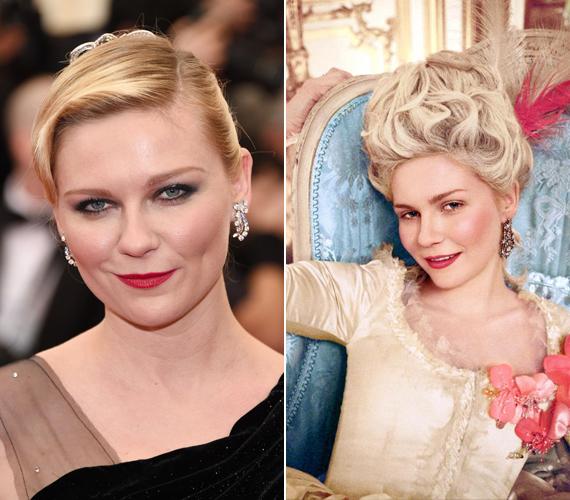 Kirsten Dunst 2006-ban játszotta el XVI. Lajos feleségét, Marie Antoinette-et, aki az akkori divatnak megfelelően élt-halt a parókákért. A színésznőnek is jól állt.