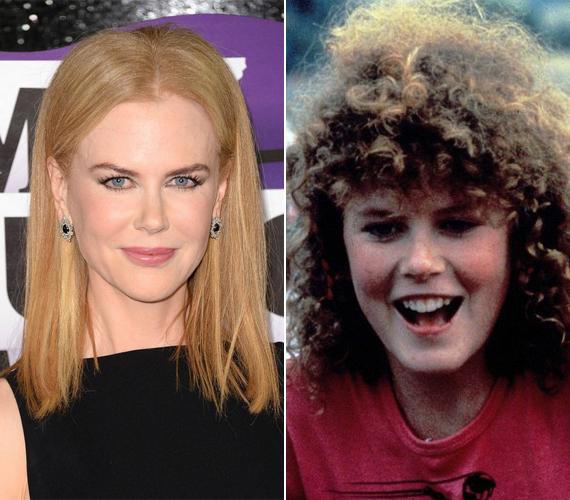 Utoljára a kilencvenes években volt hasonló a haja, most már az egyenes, szőke frizurát kedveli.