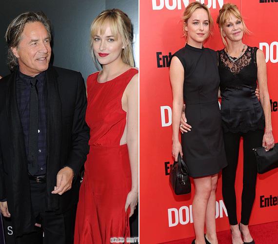 Don Johnson az édesapja a 25 éves Dakota Johnsonnak, aki A szürke ötven árnyalata című film főszereplője - édesanyja pedig nem más, mint Melanie Griffith. A 65 éves színész ötszörös édesapa, két lánya és három fia született az évtizedek során.