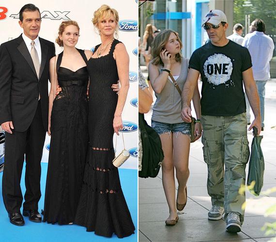 Az 54 éves Antonio Banderas egygyermekes édesapa: lánya, Stella volt feleségétől, Melanie Griffith-től született 1999 szeptemberében.