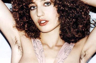 Jade Jagger a kampány képen