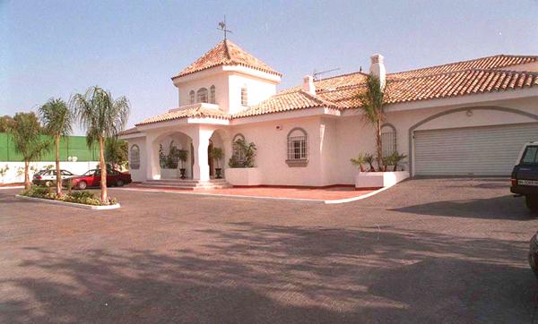 Antonia Banderas és Melanie Griffith háza
