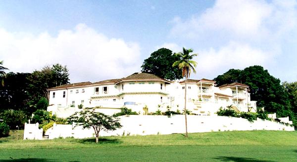 Harrison Ford villája Tobago-ban