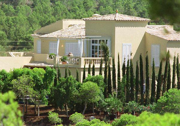 Claudia Schiffer villája Mallorca-n