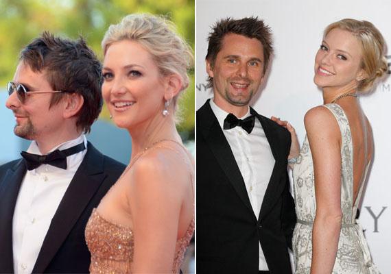 Matt Bellamy, a The Muse frontembere, a bájos Kate Hudson volt párja sem tudott elvonatkoztatni exétől. Válásuk után Elle Evans modell mellett kötött ki, aki tiszta Kate!
