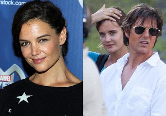 Kísérteties a hasonlóság Tom Cruise exe, Katie Holmes és a között a kollégája között, akivel később hírbe hozták. Szinte ikrek!