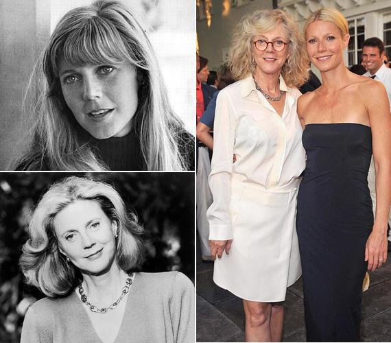 A fiatal Blythe Danner fotóját szinte össze lehetne téveszteni Gwyneth Paltrow-éval, annyira hasonlítanak. A 72 éves színésznő egyébként kétgyermekes édesanya: a 42 éves Gwyneth-en kívül van egy 39 éves fia is, aki szintén a filmiparban dolgozik rendezőként és forgatókönyvíróként. Ezenfelül már nagymama, hiszen Gwyneth Paltrow révén két unokát kényeztethet.