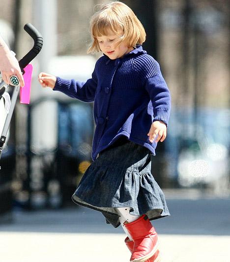 Matilda Rose Ledger  Michelle Williams és Heath Ledger kislánya 2005 októberében született - arcán tragikusan fiatalon elhunyt édesapja vonásai is tükröződnek.