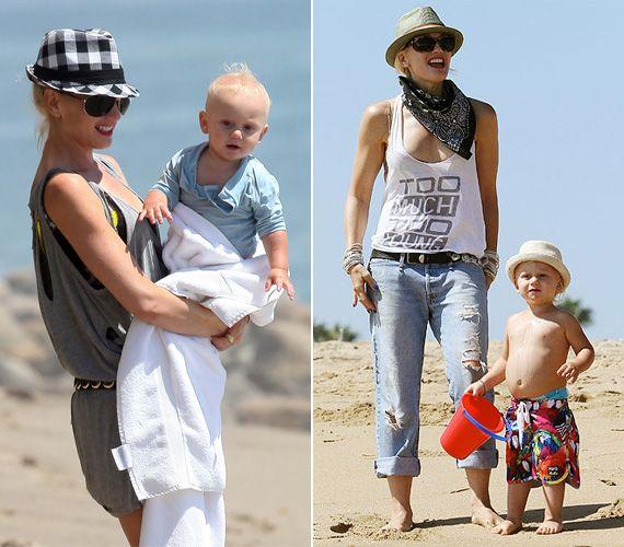 Gwen Stefani kisfia, Zuma Rossdale már most messze meghaladja kortársait, elragadó kis kalapjában.