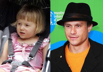 Matilda és apukája, Heath Ledger
