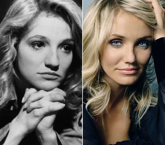 A pimasz szőke karaktert a nyolcvanas és kilencvenes években Ellen Barkin formálta meg, olyan filmekben, mint a Farkangyal és a Zűrös manus, majd a kilencvenes évek közepén átvette tőle a stafétabotot a nála 18 évvel fiatalabb Cameron Diaz.